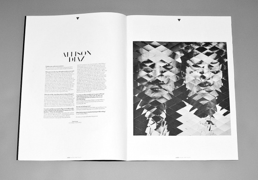 USED ISSUE ONE #print #blackwhite #editorial #magazine