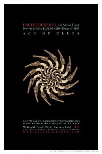 130127.jpg (JPEG Image, 400x600 pixels) #ten #todd #kancar #city #of #octopus #ace #ton #poster #music #nyc #clubs #york #new