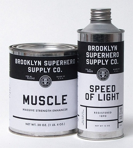 Brooklyn Superhero Supply Co. | Shiro to Kuro #packaging #white #black