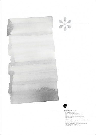 Creative Review - Hyland makes his mark #paint #poster #typography