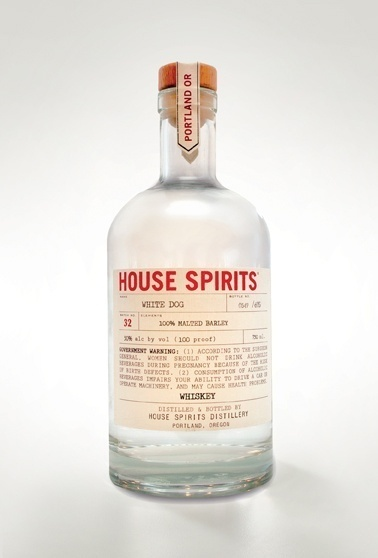 House Spirits White Dog Whiskey. Portland's small batch limited edition spirits.