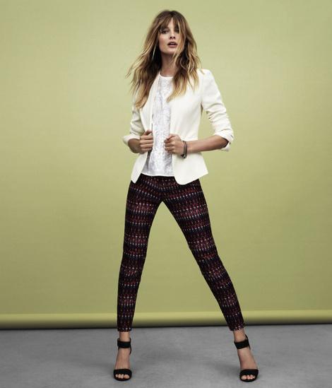 Edita Vilkeviciute for H&M #fashion #photography