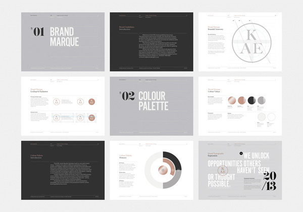KAE — Strategic Marketing on Behance #branding