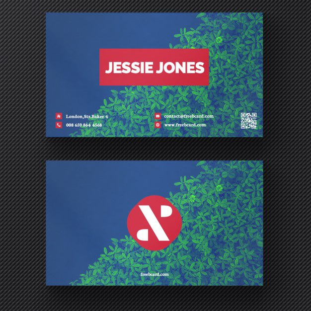 Business card with a plant background Free Psd. See more inspiration related to Logo, Business card, Mockup, Business, Abstract, Card, Template, Office, Visiting card, Presentation, Stationery, Corporate, Mock up, Company, Modern, Branding, Visit card, Identity and Brand on Freepik.