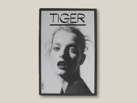 Tiger - Folch Studio #folch #serif #san #cover #tiger #magazine
