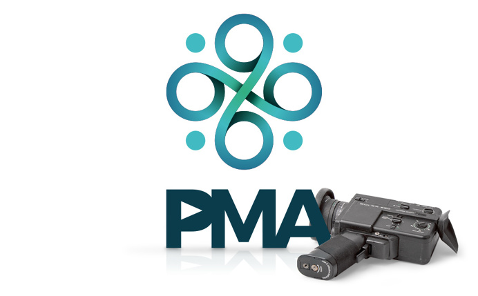 PMA rebrand design, by Redspa http://redspa.uk