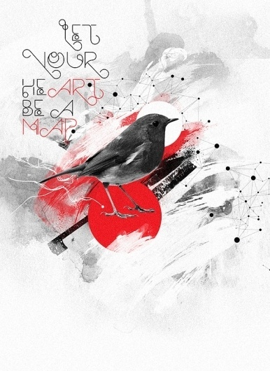 Codes on the Behance Network #illustration #poster