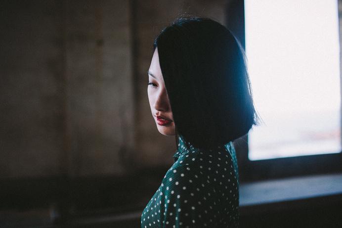 Karsten Liao #photo #asian #dots #hair #portrait
