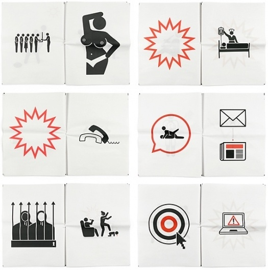 Creative Review - England's Burning #pictogram #icon #design #graphic #illustration