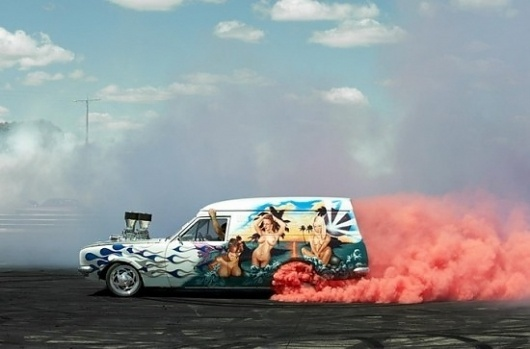 Simon Davidson Photography | Fubiz™ #car #smoke