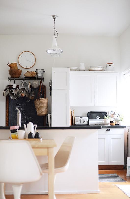 sfgirlbybay kitchen in white #interior #design #decor #kitchen #deco #decoration