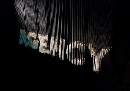 Agency Sign : Oscar & Ewan #signage #typography