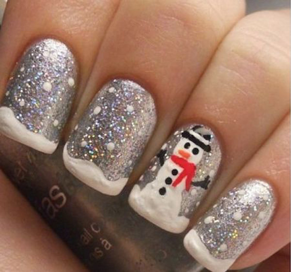 Best Nail Snowman Art Designs Inspired images on Designspiration