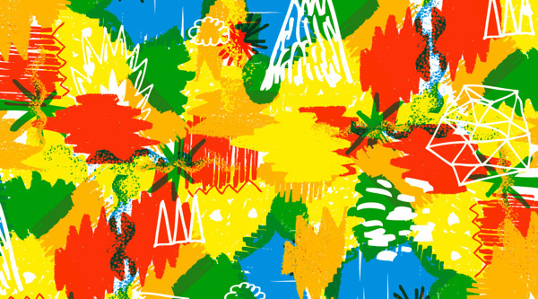 Badlands™ 2012 collection / Prints for Teelocker on Behance #bright #bosque #pattern #summer