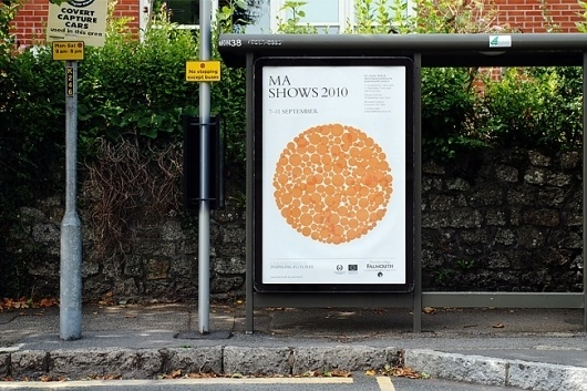 University College Falmouth MA Show Identity and Communications Materials 2010   Two #two #design #graphic #poster