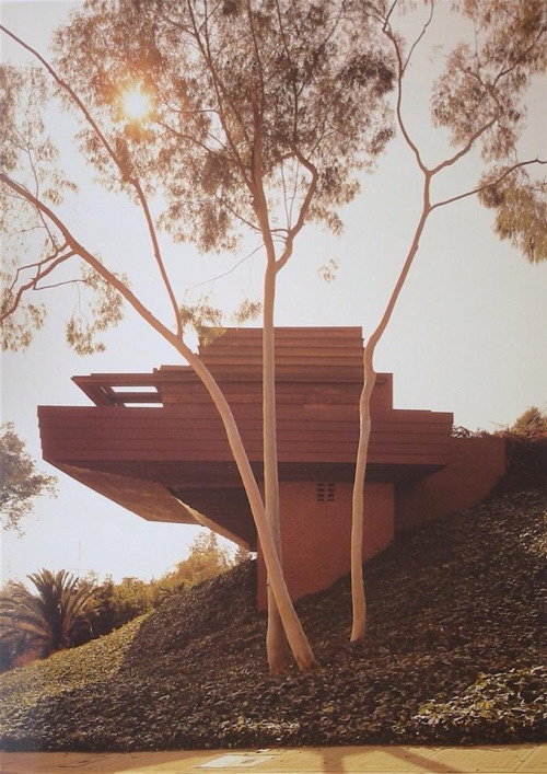 Sturges House – Los Angeles – Frank Lloyd Wright – 1939