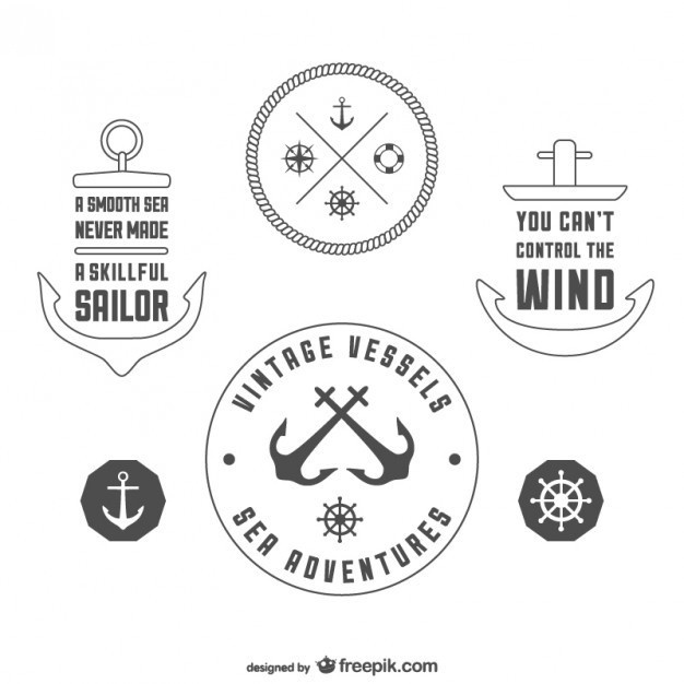 10 Awesome Free Nautic Vectors #vector #free