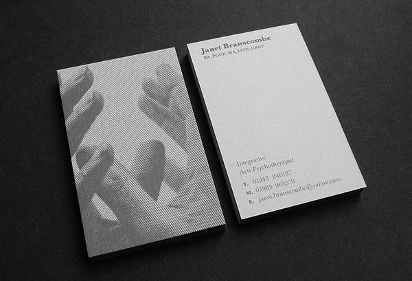 Matthew Hancock #hancock #white #holding #business #mind #card #flyer #design #graphic #in #black #monochrome #matthew #and