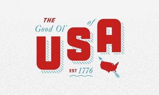 Eight Hour Day » Blog #usa #typography