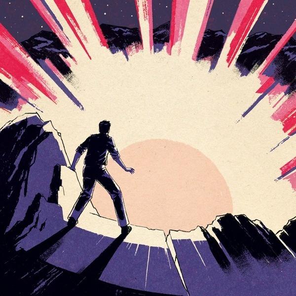 Thirteen Senses / Crystal Sounds ♫ #narrative #sun #handdrawn #blast #illustration #figure #action