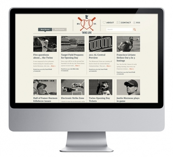 The Design Repository of Brad Surcey #web #blog