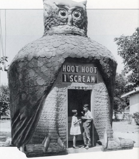 California Crazy: Roadside Vernacular Architecture #building #owl