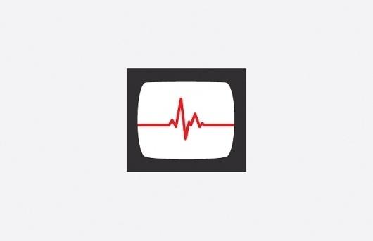 Pelican Jigsaw #heart #design #graphic #illustration #monitor #medical #minimalist