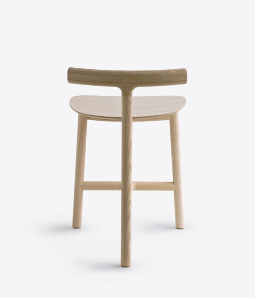 Radice Stool by Industrial Facility #wood #furniture #stool