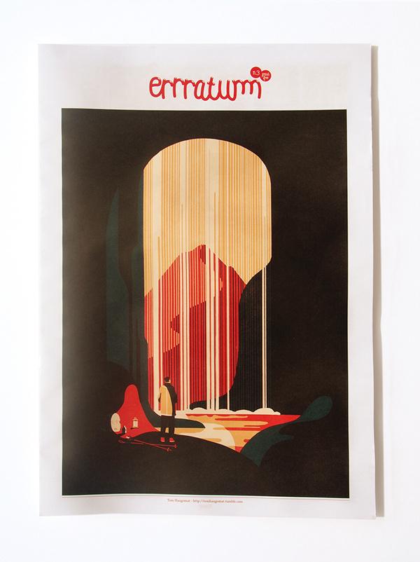 Errratum on Behance #print #magazine #illustration