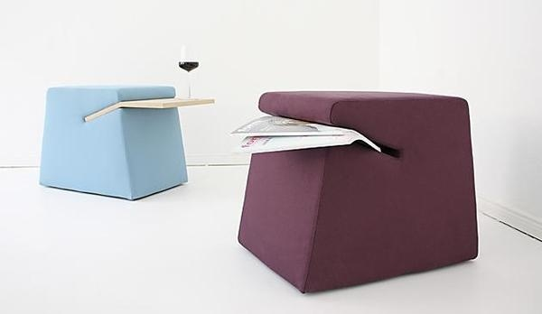 Modular The SLOT Stool and Side Table Minimalist #interior #design #decor #home #furniture #architecture
