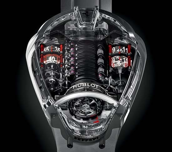 Too cool. Hublot MP-05 LaFerrari Sapphire. #LaFerrari #Hublot #Sapphire #instawatch #baselworld #baselworld2016 #baselworldabtw #watchnerd #
