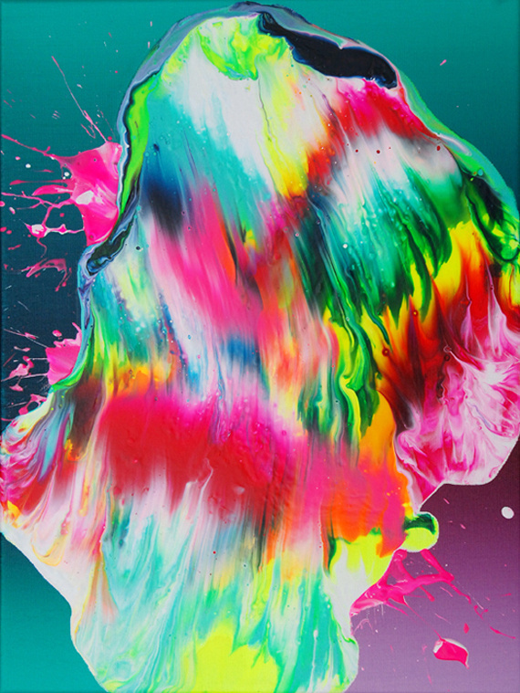 Yago Hortal. Supersonic Electronic Art #abstract #contemporary #illustration #art #painting