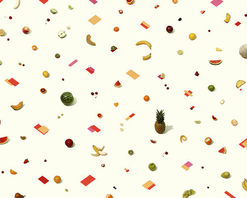 ANDREW B. MYERS #fruit #pattern