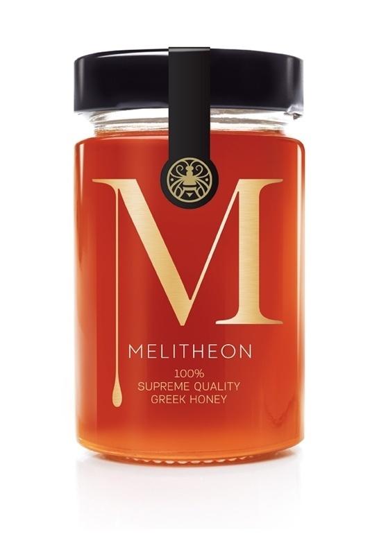 Melitheon Brand Identity - Packaging Design - Creattica #packaging #branding #honey