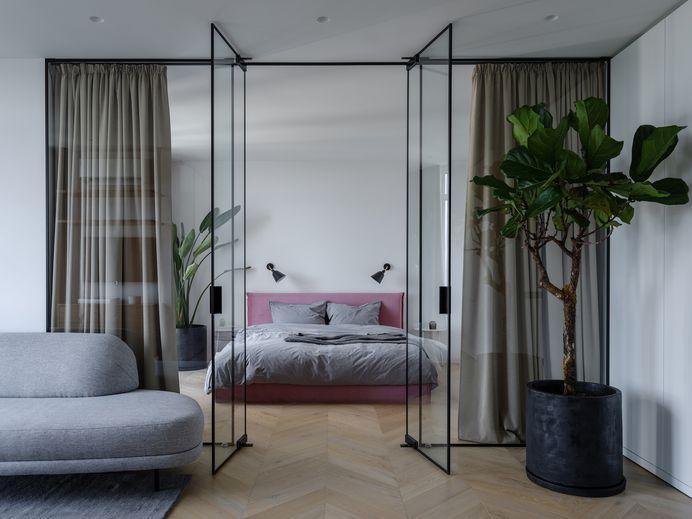 Puce Apartment by Iya Turabelidze