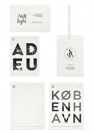 Klas Ernflo 'Still Light' identity & posters » Tom Walsh Design