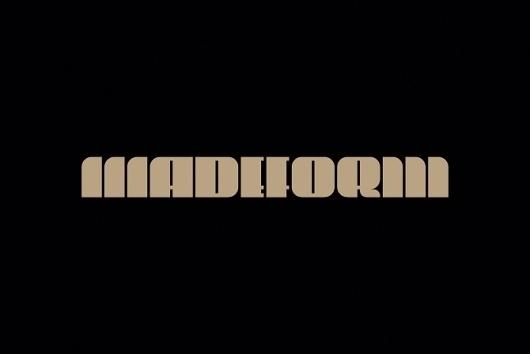 Madeform #logo #typography
