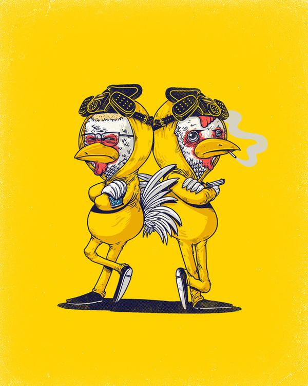Pollos - Alex Solis #breaking #solis #alex #chickens #bad