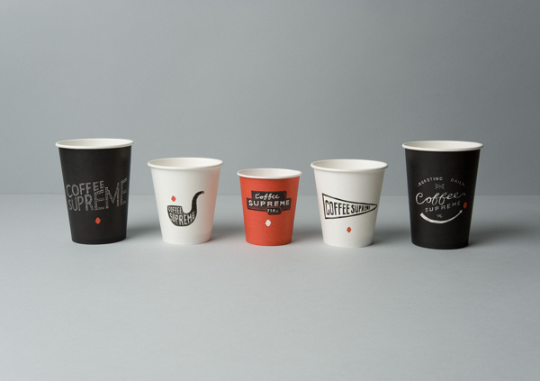 PACKAGING: COFFEE SUPREME (NZ #coffee #identity #cup #package