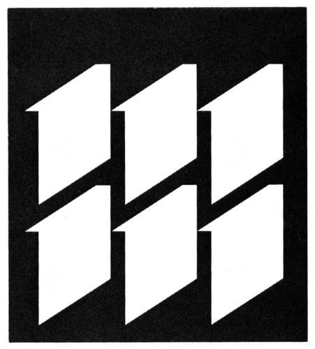 AIGA Design Archives #white #arnold #print #design #black #cover #saks
