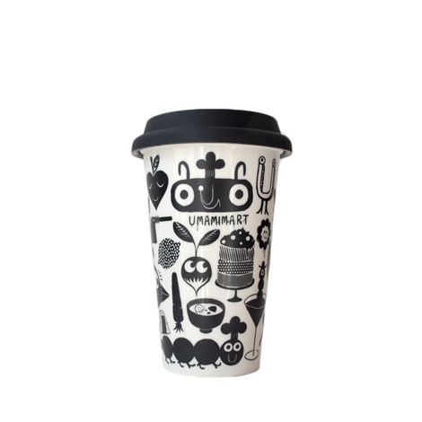 studio arhoj #packaging #cup #black and white