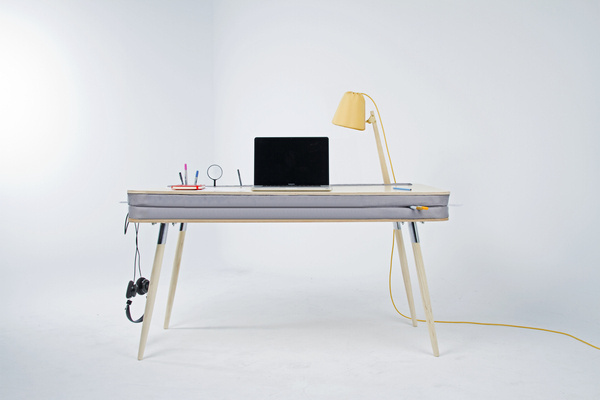 Oxymoron Desk by Anna Lotova #minimalist #desk #minimalism