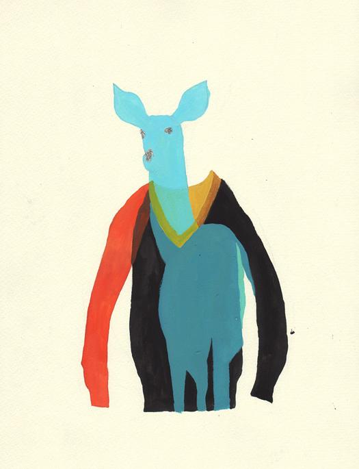 Hacco: Hazuki Miyahara #illustration #deer