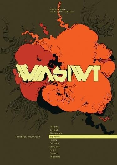 Kevin Yaun Portfolio #explosion #boom #design #poster #film #movies #action