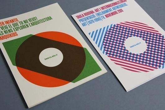 Lamosca, graphic design . Bólit 2011 #cover #typography