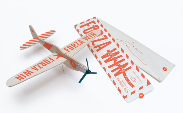 Forza Wings   SM #printed #packaging #plane #kit #glider #toy