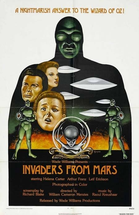 invaders_from_mars #movie #horror #poster