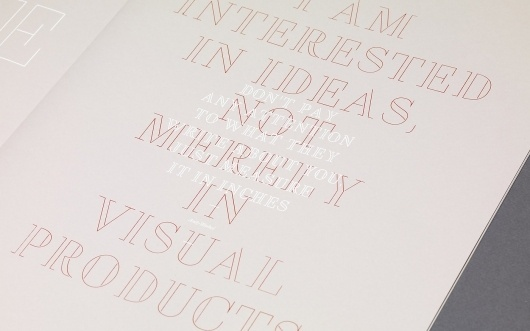 Mucho: Arte y Mecenazgo (Type Specimen) / Collate #quote #andy #warhol #typography