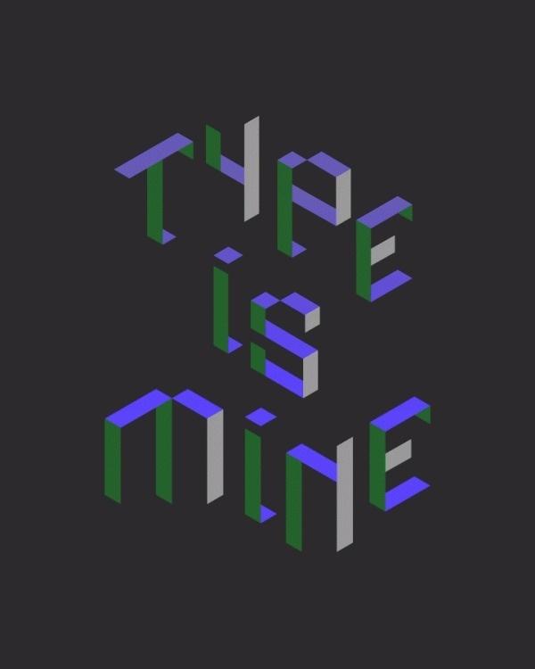 Type Hello World, type is mine #typography #type #world #font #typo #hello #mine #is