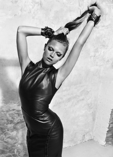 Veneda Budny by Schmidt & Gorges #sexy #woman #girl #photography #leather #fashion